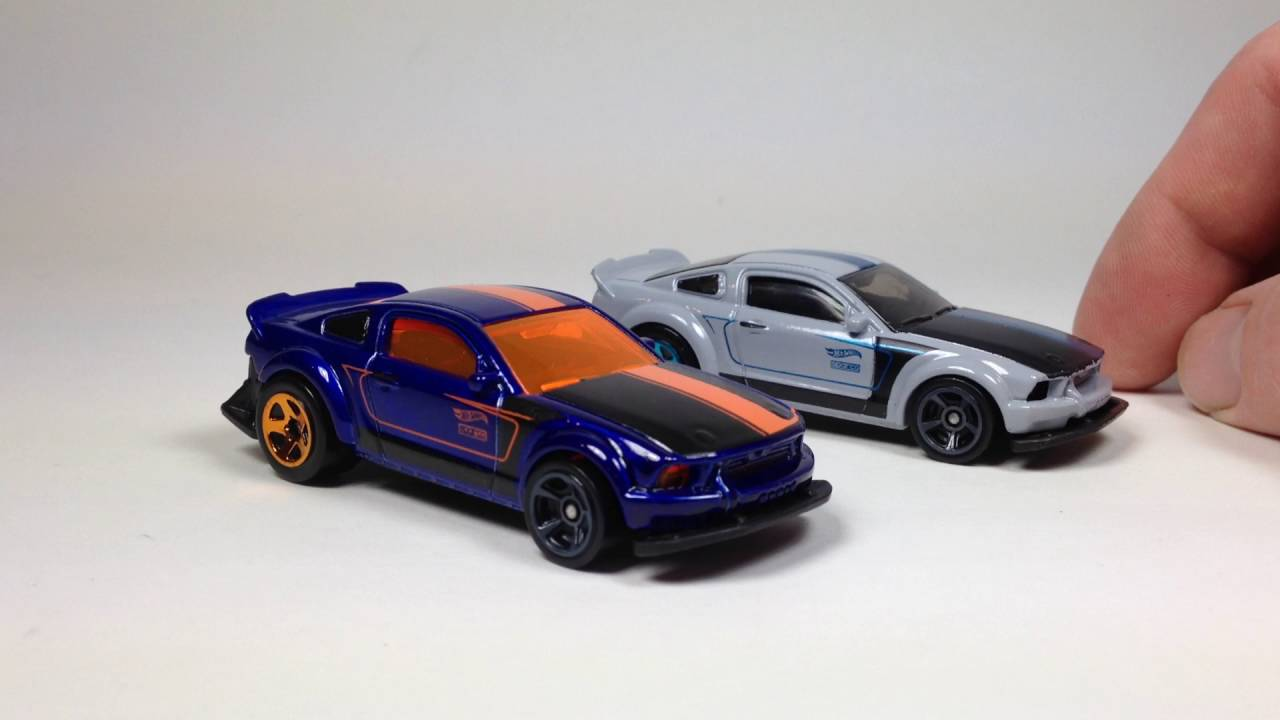 2005 Ford Mustang Hot Wheels 2016 Recolor Update Youtube