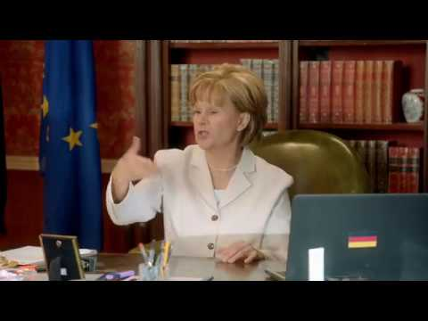 Tracey Ullman - Angela Merkel: Wonder Woman