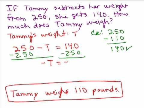 basic algebra word problems pdf