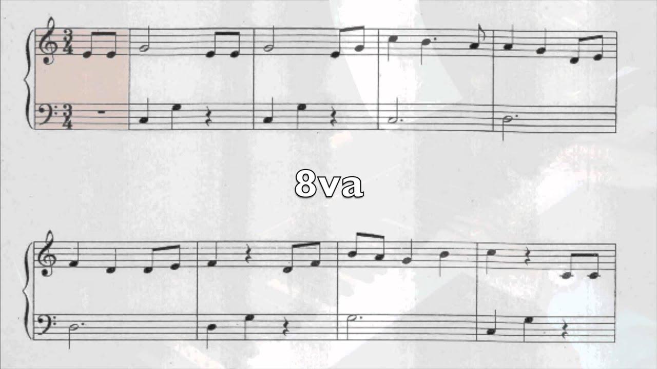 Cancion de cuna j brahms partitura easy piano version for Cancion de cuna de brahms