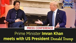 PM Imran khan & President Donald Trump Complete Press Conference at White House | 23 July 2019