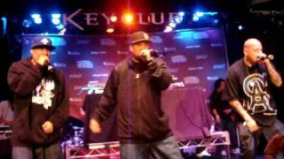 Psycho Realm Feat B Real - Psycho City Blocks (Live @ The 2009 Rock The Bells Launch Party)