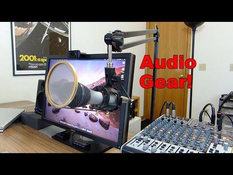 My Audio Gear Setup 2014 #ATR 2100 #Behringer #Roland #Heil #M-Audio