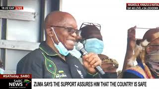 Jacob Zuma's address speech to his supporters in Nkandla, KwaZulu-Natal
