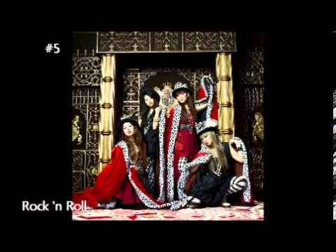 My Top 10 Scandal Japanese Band Song