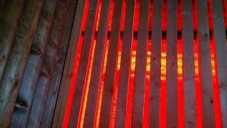 Светодиодное освещение в бане(Сделал пол с подсветкой. Вроде получилось неплохо., 2015-08-02T16:53:21.000Z)