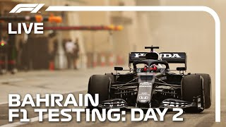 LIVE F1 Pre-Season Testing | Day Two Morning