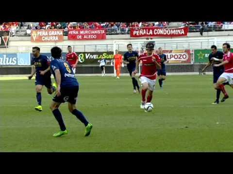 Resumen del partido Real Murcia VS UCAM Murcia (1ºParte)