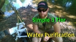 How to Make a 3 Tier Water Filtration System