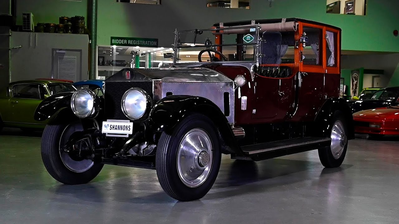 1920 Rolls-Royce 40/50 HP Silver Ghost Brougham De Ville - 2019 Shannons Sydney Winter Classic Auction