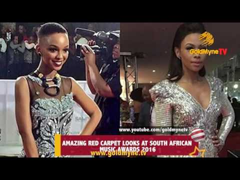 AMAZING RED CARPET LOOKS AT SOUTH AFRICAN MUSIC AWARDS 2016