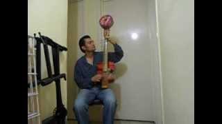 Proving Indo Arabic style on instrument created by Habib Dergal