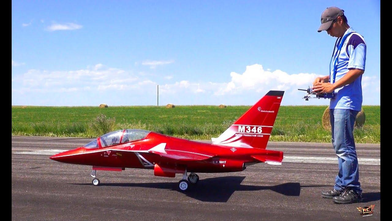 Rc adventures huge m346 italian fighter jet alenia aermacchi youtube