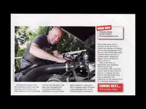 Torquing Diesel - Andrew Ditton Review - Caravan Magazine - Oct/Nov 2013