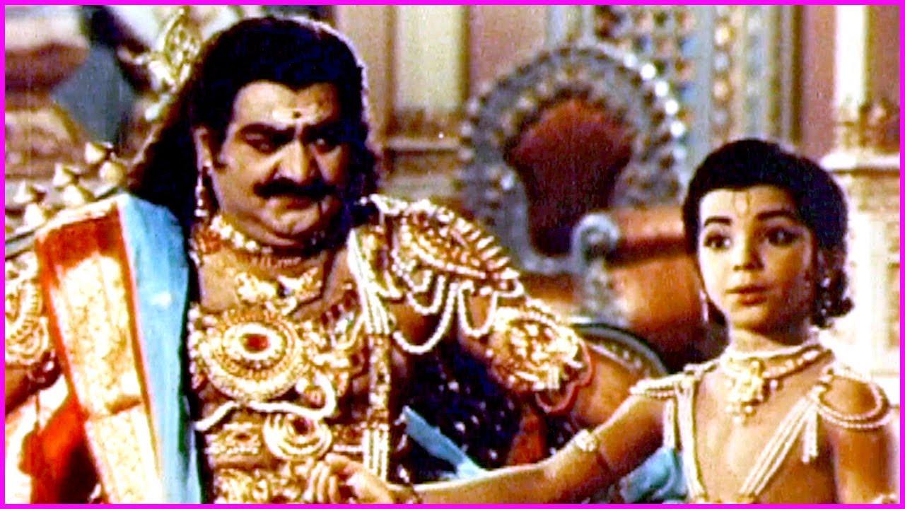 Bhakta Prahlada Movie Video Song | Roja Ramani | SV Ranga Rao | Old Super Hit Song