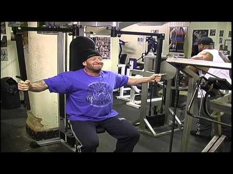 Dorian Yates  Intense workout.