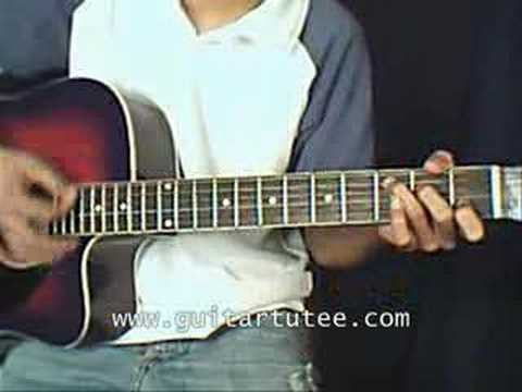 Eternal Flame (of Bangles, by www.guitartutee.com)