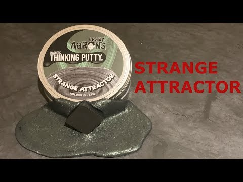 Crazy Aaron's Strange Attractor Magnetic Thinking Putty  Best  on YouTube