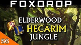 [Season 6] ELDERWOOD Hecarim Gameplay (NEW SKIN) - League of Legends