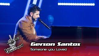 "Baixar Gerson Santos - ""Someone You Loved""    Prova Cega   The Voice Portugal"