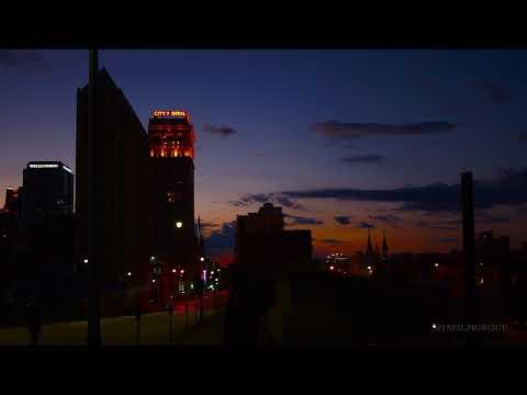 Birmingham City NIGHT TIME IN 4K