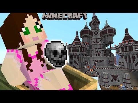 Minecraft: HEROBRINE'S CASTLE CHALLENGE! (MARIO KART STYLE RACE!) Mini-Game