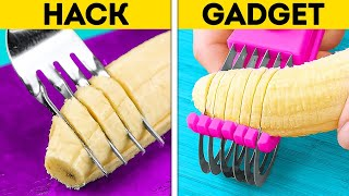 HACKS VS. GADGETS || Smart Kitchen Tricks And Easy Cooking Hacks To Save Your Time
