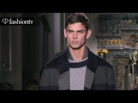 Valentino Men Fall/Winter 2014-15 | Paris Men's Fashion Week | FashionTV