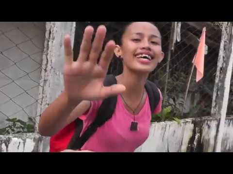 Snap interview with cute Mindanao girl at Philippines fiesta!