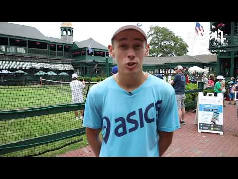 Day In The Life With NextGenATP Alex de MInaur Newport 2018