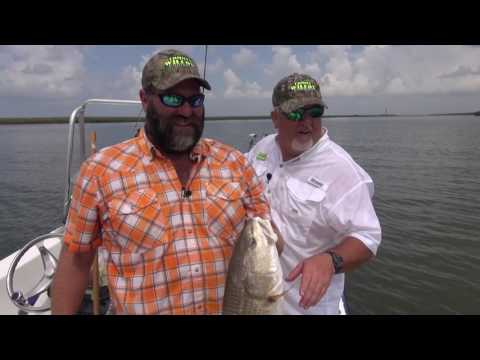 Tommy Wilcox Red Fishing at Port Eads in Louisiana - Part 2