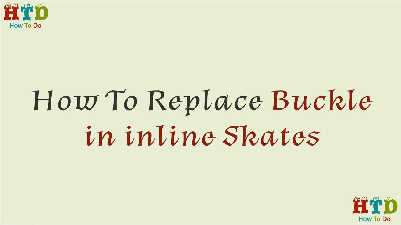 T TOOYFUL 4 X Inline Skate Strap Buckle con Viti di Serraggio Sostituzione Dadi