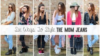 One of CopperGardenx's most viewed videos: Ways To Style: Mom Jeans (Lookbook) | CopperGardenx