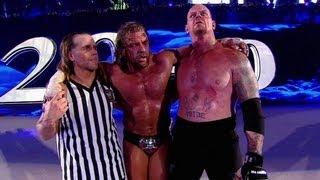 vuclip Superstars respond to Triple H vs. The Undertaker - Hell In A Cell: WrestleMania XXVIII