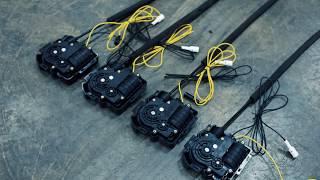 Доводчики для закрытия дверей на примере Lexus LX570