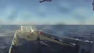 Nave Gorgona, gli elicotteri EH101 e il soccorso in mare
