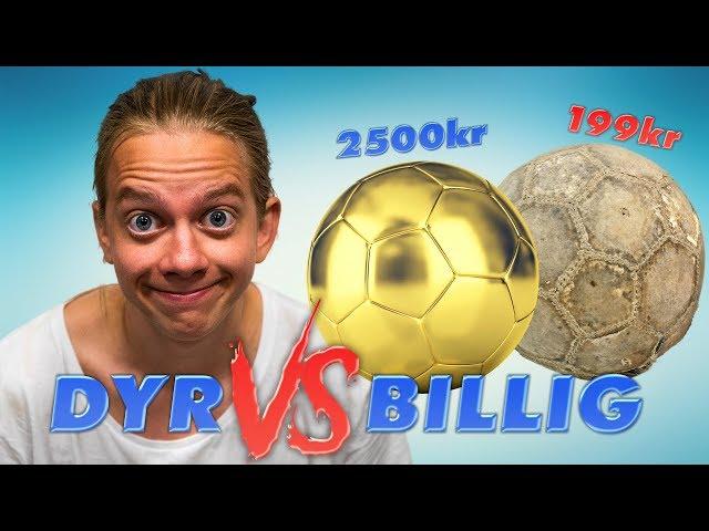 DYR vs BILLIG Sport! (Fotboll för 2500kr)