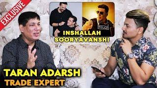 EID 2020 Inshallah Vs Sooryavanshi CLASH Averted | Trade Expert Taran Adarsh | Salman Vs Akshay