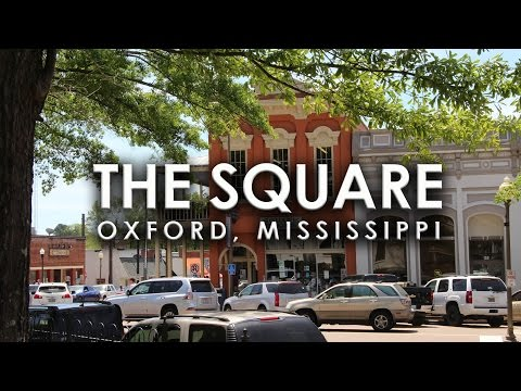 A Spring Sunday on the Square in Oxford, Mississippi