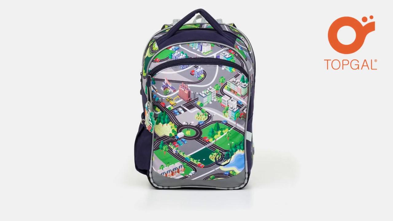 9ccfc4b1e1 Školská taška COCO 17001 B