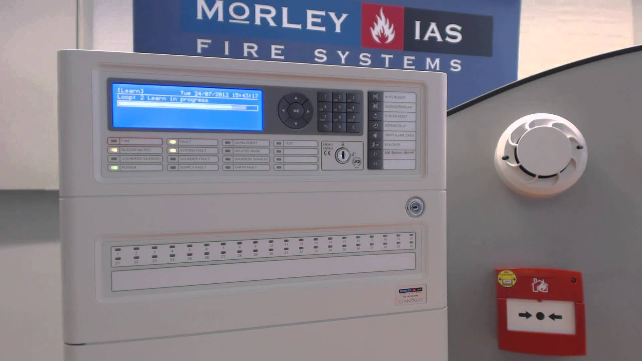 morley ias by honeywell dx connexion in 3 stappen operationeel youtube rh youtube com ademco fire alarm panel manual ademco fire alarm panel