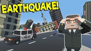 HUGE EARTHQUAKE DISASTER DESTROYS CITY! - Tiny Town VR Gameplay - Oculus Rift Game