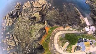 Aerial Cornwall : Lizard Point - A Bird