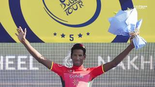 New Eritrea - Daniel Teklehaimanot is Back WINS UAE Jersey Stage 1 - Dubai Tour - Eritrean
