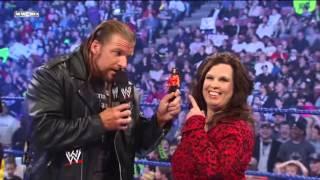 Triple H Interrupts Vickie Guerrero