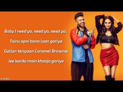 I Need Ya (Lyrics) - Sukhe | Jaani | B...