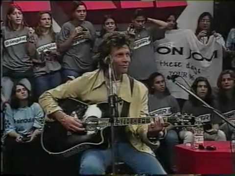 Jon Bon Jovi Programa Livre - Interview Part I 1997