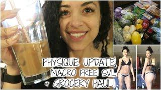 PHYSIQUE UPDATE, STARBUCKS SKINNY VANILLA LATTE, & GROCERY HAUL || Bikini Prep Series Ep. 10