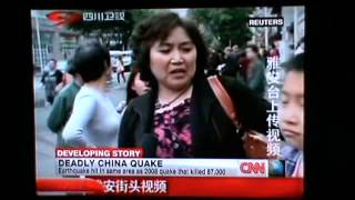 20/4/2013 - The earthquake that shook Sichuan Province on Saturday struck at 8 a.m.