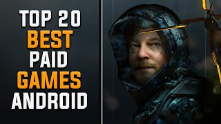 Top 20 Best Paid Games for Android | Best High Graphic Android Game  (Online/Offline)
